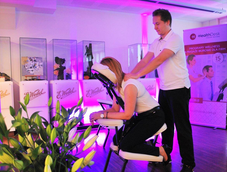 HealthDesk masaż biurowy