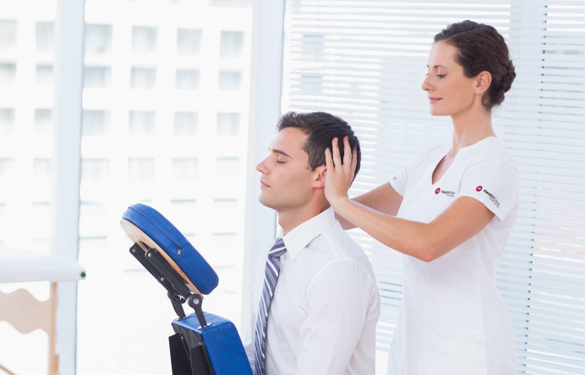 Masaż biurowy HealthDesk 4