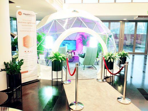 Światłoterapia antydepresyjna dla firm Business Lightroom HealthDesk 2