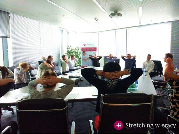 Ćwiczenia w pracy HealthDesk
